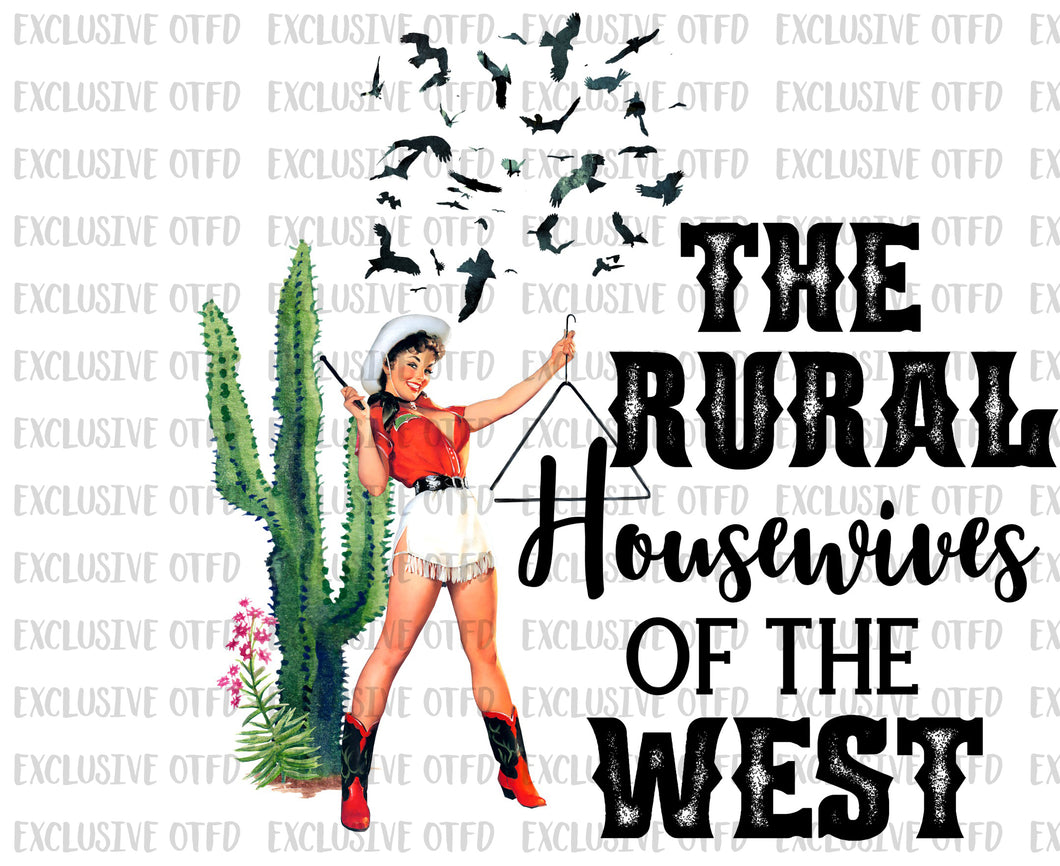 The Rural housewives of the west