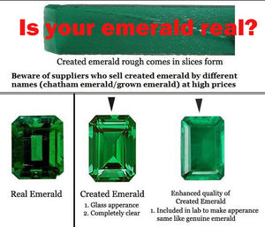 Emerald - May Birthstone.