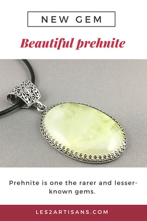 Prehnite is new gem!