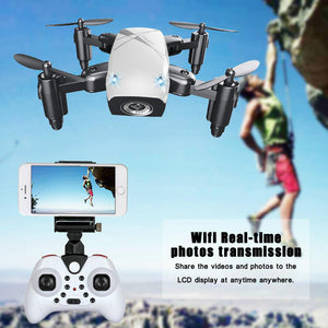 Mini Wifi Foldable Pocket Drone With HD Camera