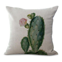 Watercolor Cactus Pillow Covers