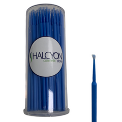 Micro Brush Applicators - 100pc Barrel - Halcyon Cosmetic Store