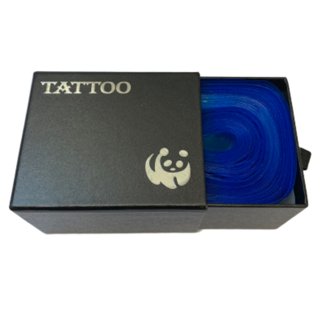 Tattoo Clip Cord Sleeves in hard cover box - Halcyon Cosmetic Store