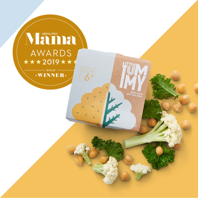 Little Tummy won 'The Best Baby Food Awards'