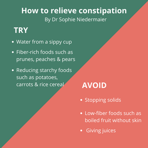 Tips for constipation in babies