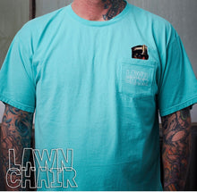 Large Lawn Chair Just Koolin Pocket T-Shirt