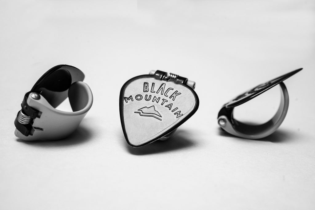 3, Medium Gauge, Black Mountain Thumb Picks