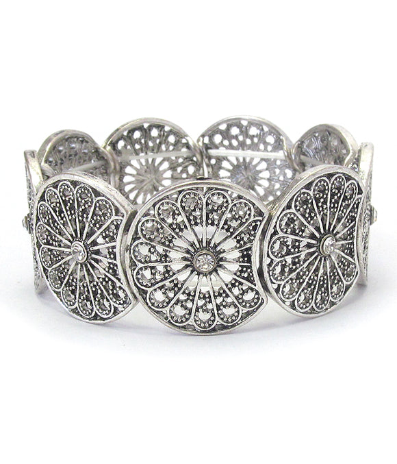 Filigree Stretch Bracelet