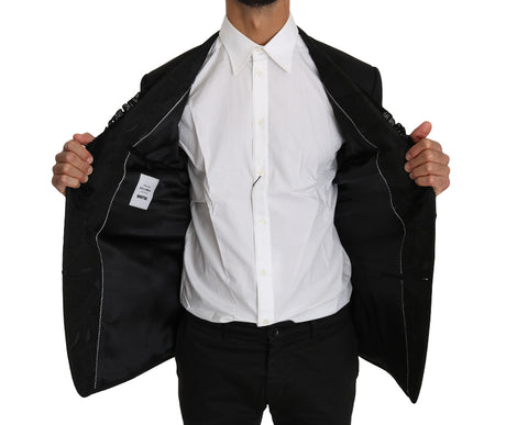 Blue Suede Gold Studs Mary Jane Pumps