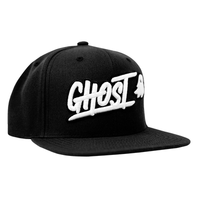 GHOST Logo Black Snapback