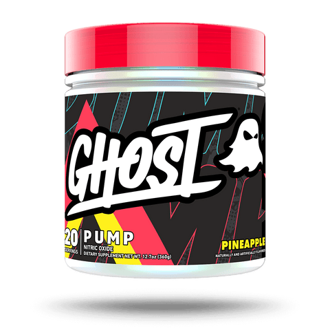 GHOST PUMP Lemon Lime flavor - 40 servings stim free pre workout
