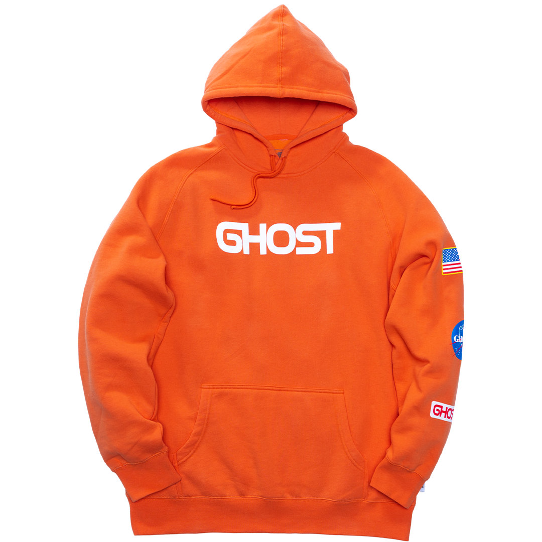 GHOST® SPACE HOODIE Lunar Orange