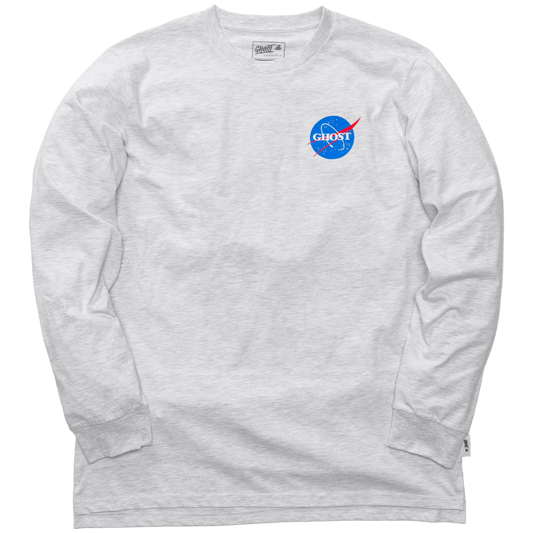 GHOST® SPACE LONG SLEEVE White Heather