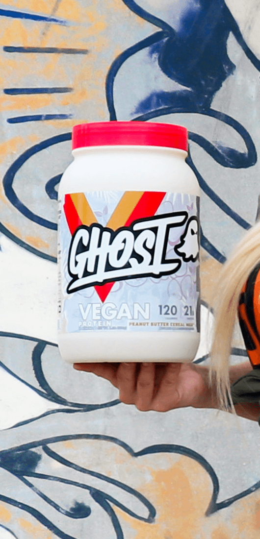 GHOST Vegan Protein Peanut Butter Cereal Milk Flavor 28 servings