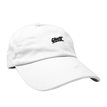 GHOST® DAD HAT WHITE