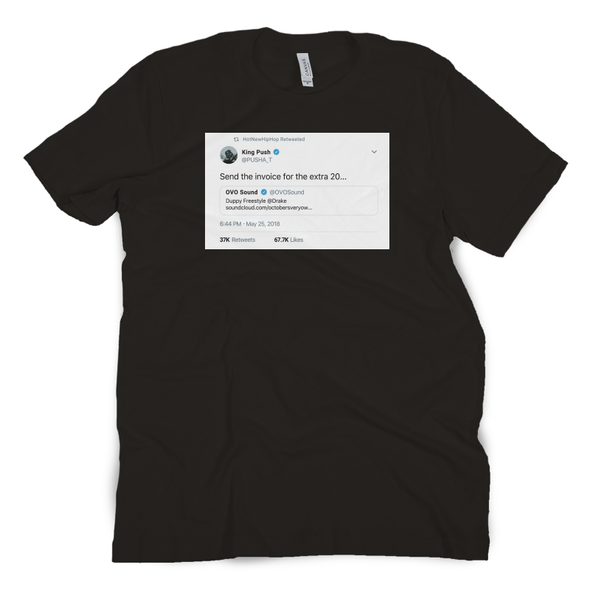 Send the Invoice Tweet Tee