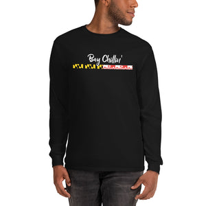 Bay Chillin' Long Sleeve Men's T-Shirt