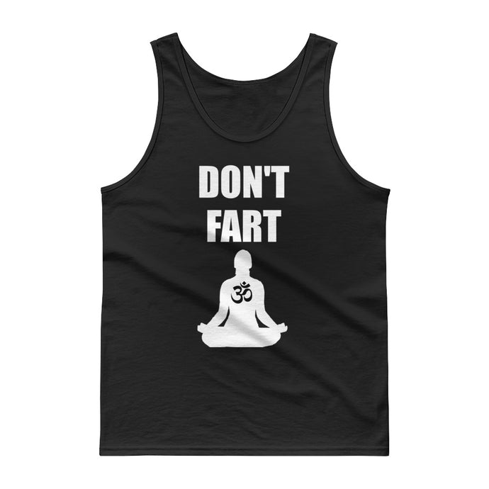 Don't Fart Yoga Tank Darks