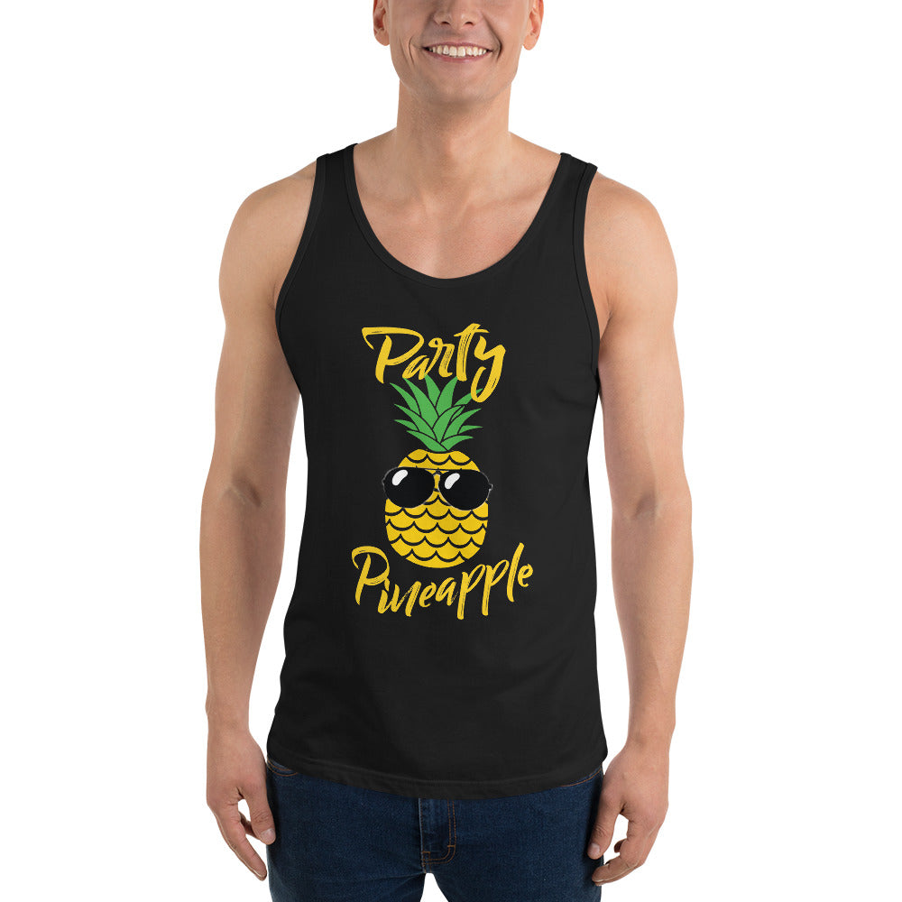 Party Pineapple Unisex Tank