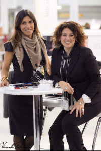 Rossana & Cecilia during London Fashion week