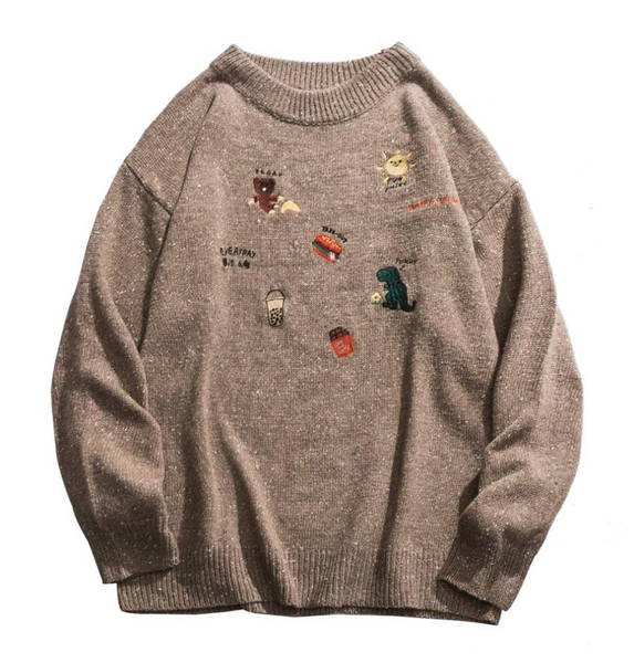DAYHYPE Dino Knit Sweater.