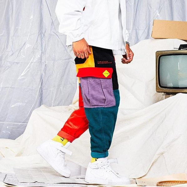 """Patchwork"" Sweatpants"