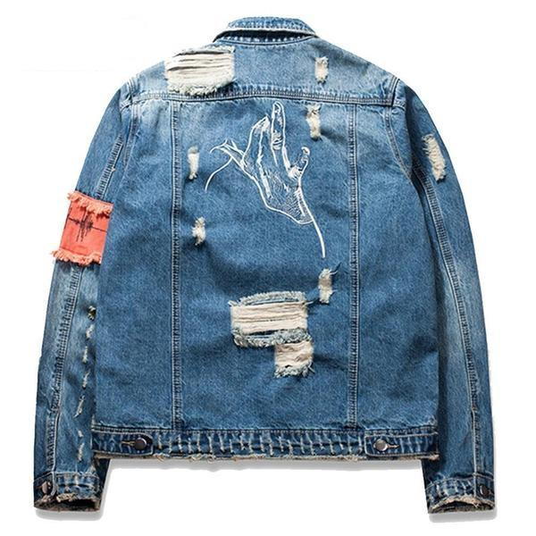 """Xanth"" Denim Jacket"