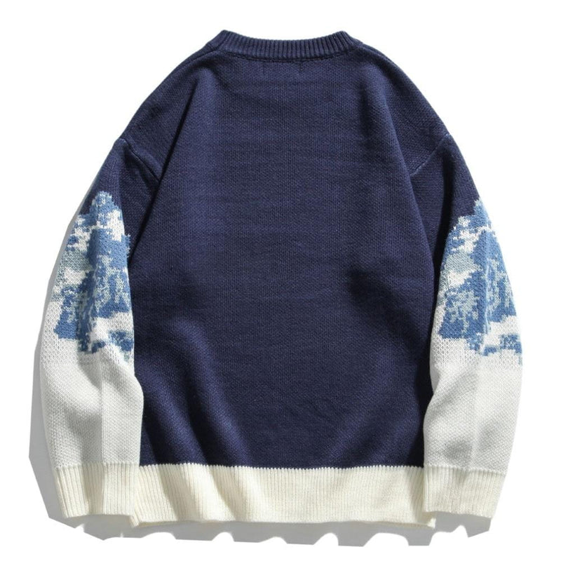 """Snowy Mountains"" Sweater"