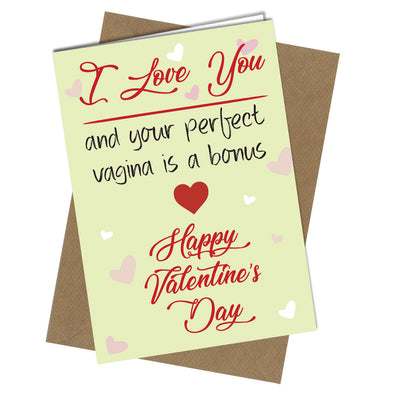 #428 VALENTINE Bl*w Jobs like Flowers Greeting Card Boy HUMOUR Funny Rude Celebrations & Occasions Cards & Invitations
