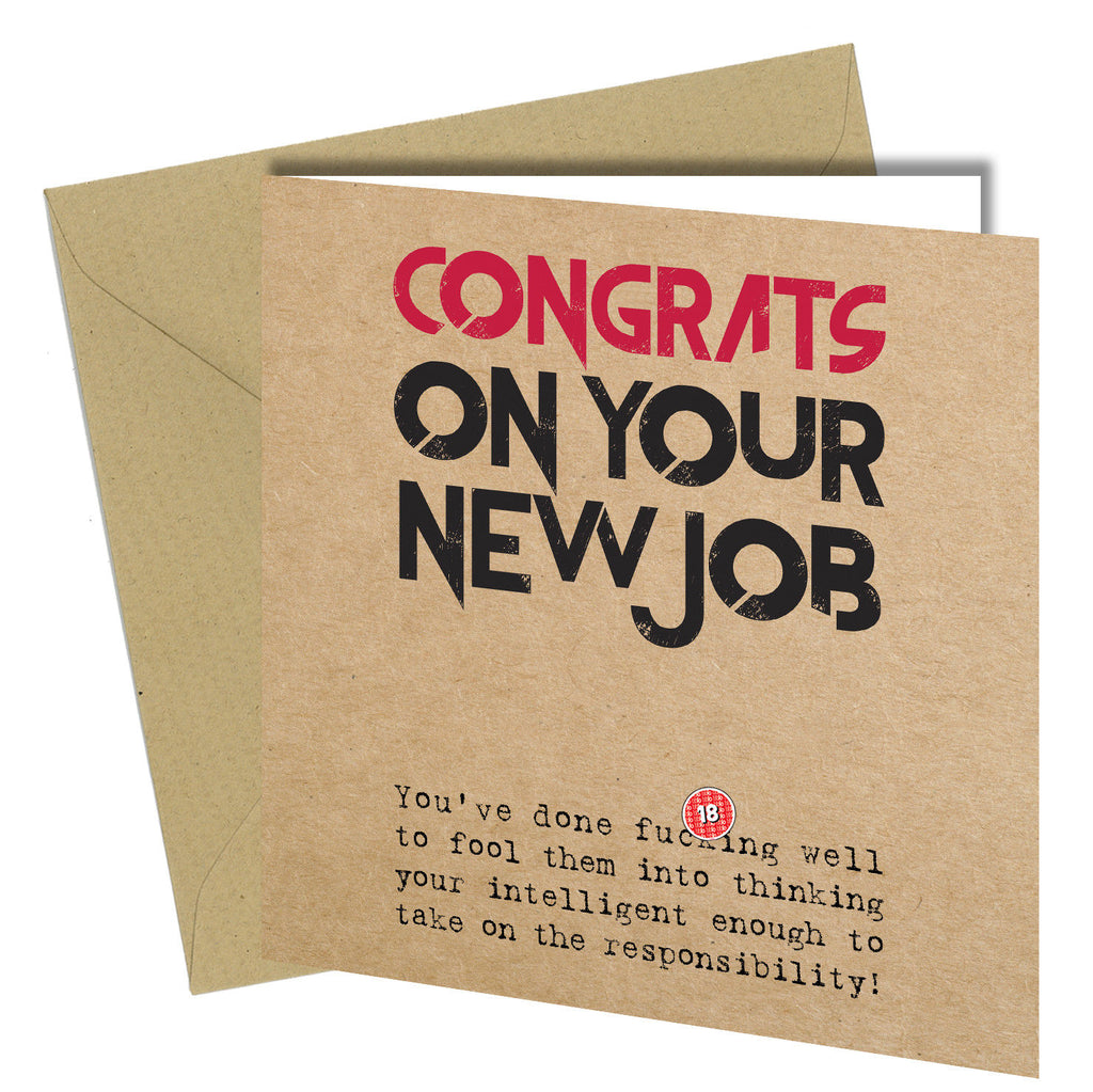615 new job greeting card congratulations on your new job