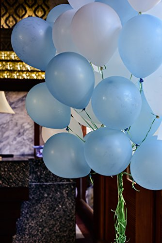 Treasures Gifted Light Blue White Latex Balloons Set Decorations For Baby  Shower Birthday Wedding Gender Reveal Bachelorette Party Supplies