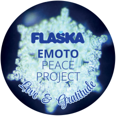 Flaska Emoto Peace Project