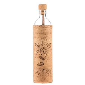 FLASKA NATURAL CORK RENACER