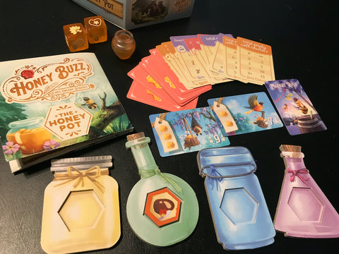 Honey Buzz: The Honey Pot Mini Expansion