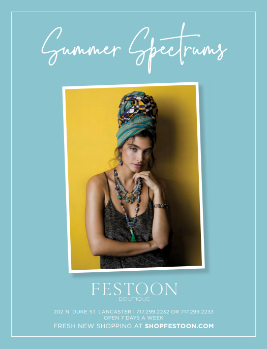 fresh new shopping at festoon, lancaster, pa, open 7 days a week, summer spectrums