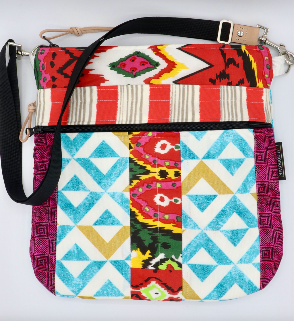 "J almodovar crossbody bag of the day! Featured bag is 13"" deep. Designed, cut and sewn in Lancaster, Pa!"