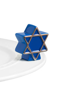 Star of David - Nora Fleming Mini - Festoon Boutique
