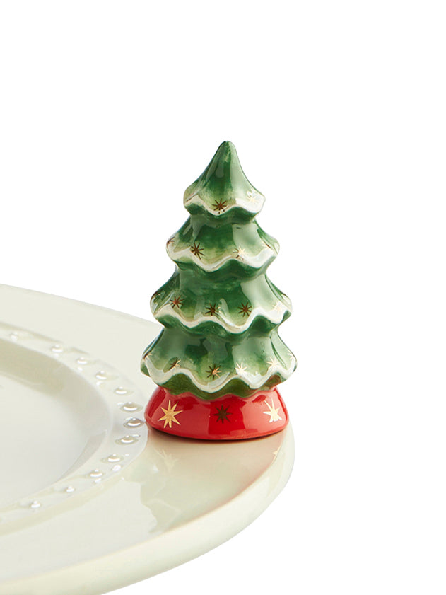 Vintage Christmas Tree - Nora Fleming Mini - Festoon Boutique
