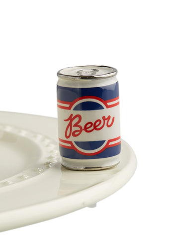 Beer Can - Nora Fleming Mini - Festoon Boutique