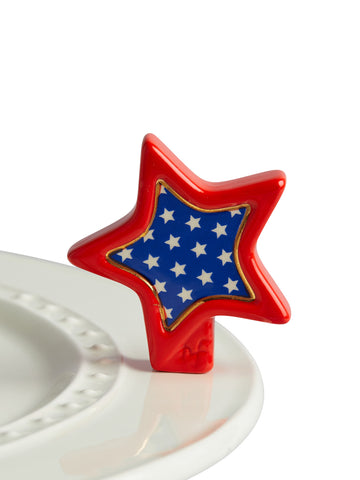 Americana Star - Nora Fleming Mini - Festoon Boutique