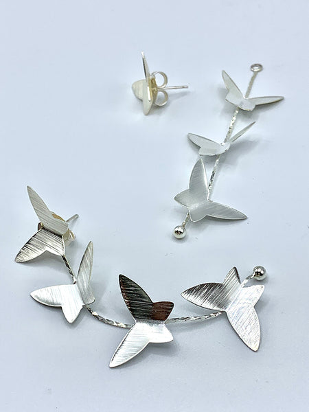 Butterfly Earrings - Festoon Boutique
