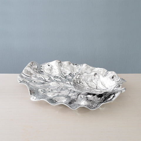 Beatriz Ball GARDEN Lettuce Leaf Platter with Dip Bowl