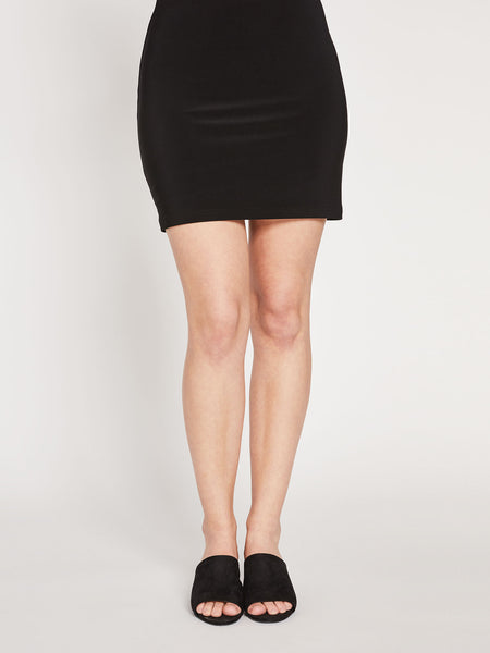 Sympli Mini Skirt- Black