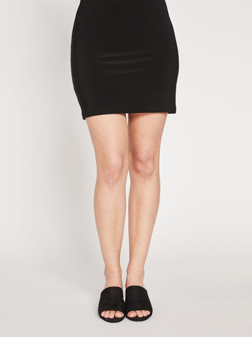 Sympli Black Mini Skirt