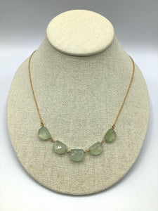Georgia Varidakis Prehnite Necklace