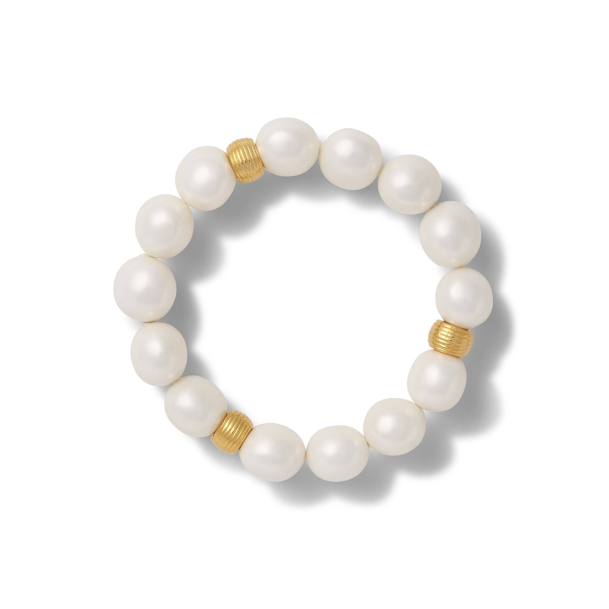 Medium Pebble Pearl Bracelet