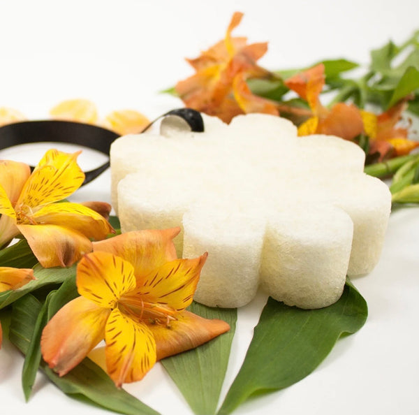 Spongelle` Papaya and Yuzu Wild Flower Bath Sponge