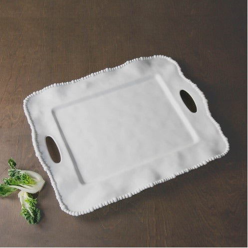 Beatriz Ball Melamine Alegria Tray with handles