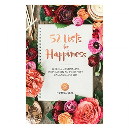 52 Lists for Happiness - Journal