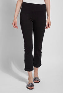 Lysse` Boyfriend Black Denim